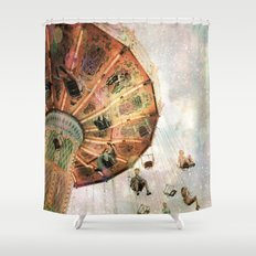 A Carnival In the Sky III Shower Curtain