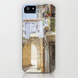 Laundry in Syracuse iPhone Case