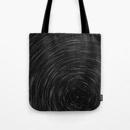 Circles (Black and White) Tote Bag