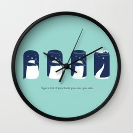 If you think you can, you can. Wall Clock