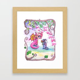 For You Framed Art Print