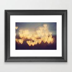 Bright New Love Framed Art Print