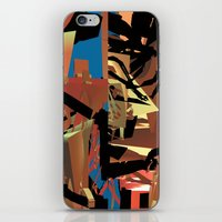 nietzsche iPhone & iPod Skins featuring Nietzsche Walks Out At Bayreuth (The Theater of Noisea)  by Lanny Quarles