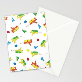 Waterguns Pattern Stationery Cards