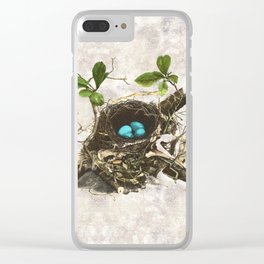 A commonplace miracle Clear iPhone Case