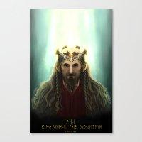 fili Canvas Prints featuring King Fili by Luirumi