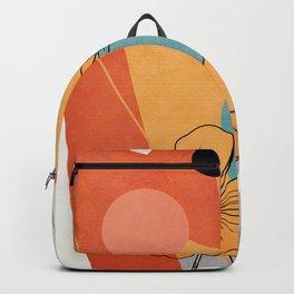 Vibrant Flower Design 2 Backpack
