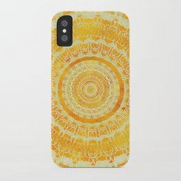 Sun Mandala 4 iPhone Case