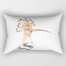 Hairy Bird Rectangular Pillow