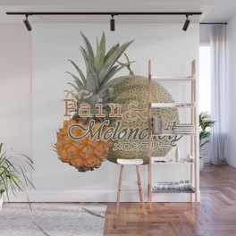 Pain & Meloncholy Wall Mural
