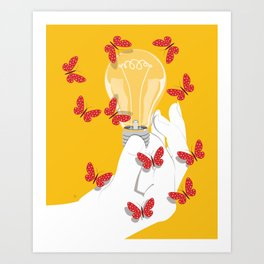 Shine Your Light Art Print