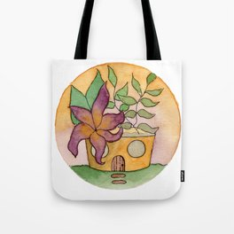 In The Garden: August Tote Bag