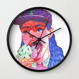 Mint chip Wall Clock