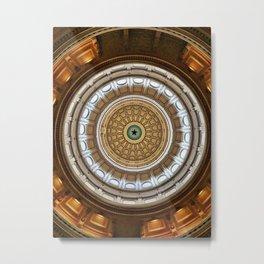 Texas Capitol Metal Print