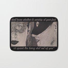 Christian & Ana Masks (Fifty Shades Darker) Bath Mat