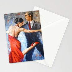 Argentine tango Stationery Cards