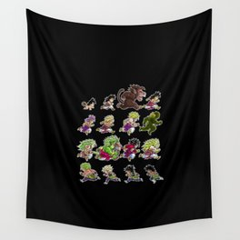 Evolutions of Broly Wall Tapestry
