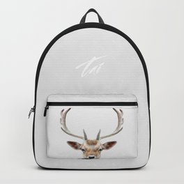 Deer Head Backpack