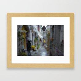 Saint Paul De Vence  Framed Art Print