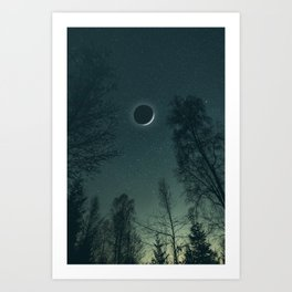You are my moon and all my stars Art Print