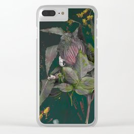Symbiotic Relationship of Wilting Clear iPhone Case