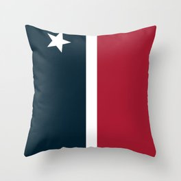 Houston Simple graphic Throw Pillow