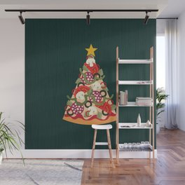 PIZZA ON EARTH Wall Mural