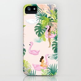 pink river iPhone Case