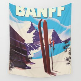 Banff National Park in Alberta Canada Wall Tapestry