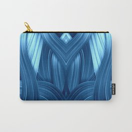 Abstraktion in blau Carry-All Pouch