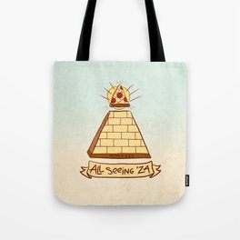 THE ALL SEEING 'ZA Tote Bag