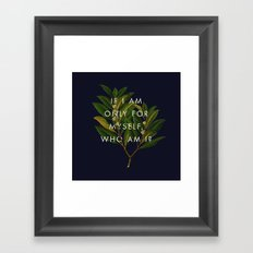 The Theory of Self-Actualization II Framed Art Print