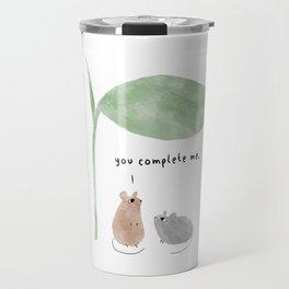 You Complete Me Travel Mug