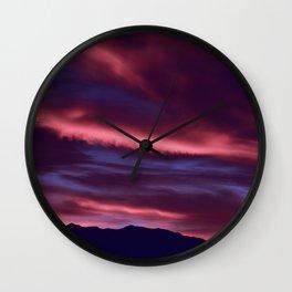 SW Serenity Rose Sunrise Wall Clock