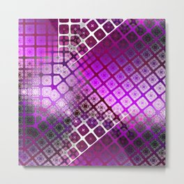 Place 2B Pattern (Berry Much) Metal Print