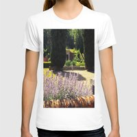 lavender T-shirts featuring Lavender by Olivia Nicholls-Bates