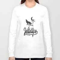 wildlife Long Sleeve T-shirts featuring Wildlife by wege17