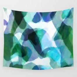 Soft Touch Watercolor Abstract by Menega Sabidussi Wall Tapestry
