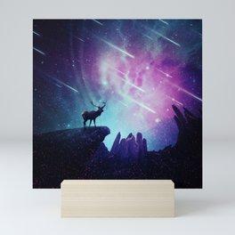 Majestic dear Mini Art Print