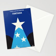 No242 My Fantasia minimal movie poster Stationery Cards