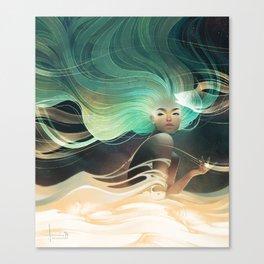 Aurorae Canvas Print