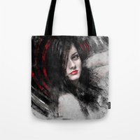 passion Tote Bags featuring Passion by Kanelov