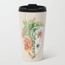 Heart in Bloom Travel Mug