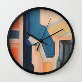 Slices of Ruin Wall Clock