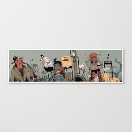 weired collection Canvas Print