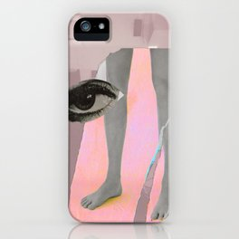 Yafo in Millenial Pink iPhone Case