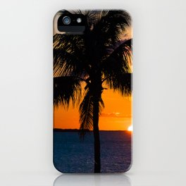 Key Largo Sunset iPhone Case