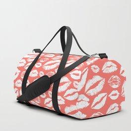 Lip 24 Living Coral Duffle Bag