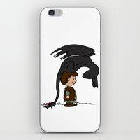 hiccup iPhone & iPod Skins featuring He's Your Dragon, Hiccup by mikaelak