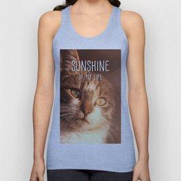 Cat - Sunshine of my life Unisex Tank Top